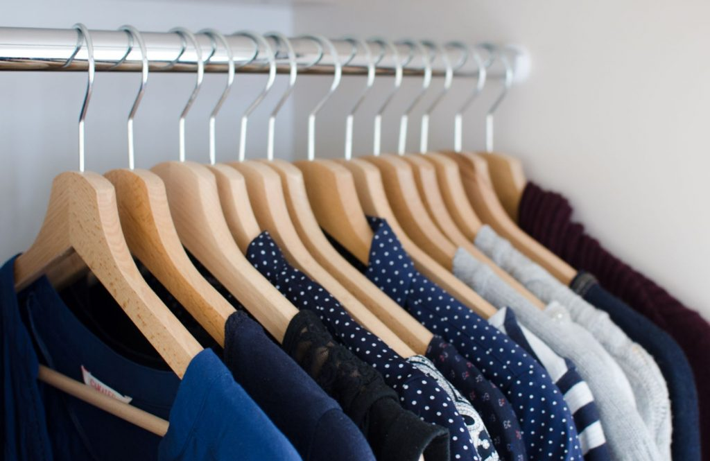 Virtual organizing of your wardrobe